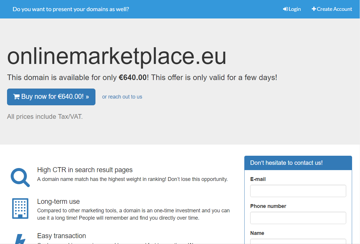 onlinemarketplace.eu